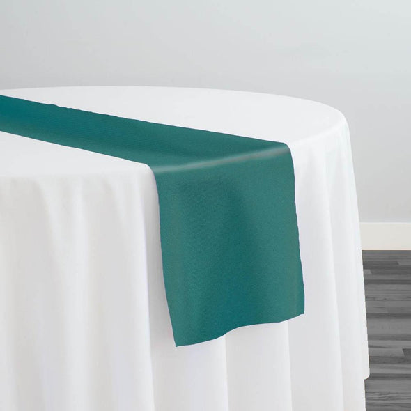 Premium Polyester (Poplin) Table Runner in Teal 2052