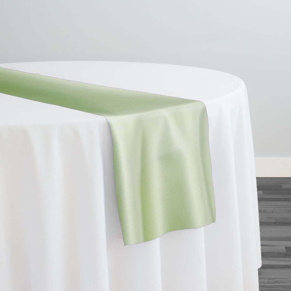 Lamour (Dull) Satin Table Runner in Teal Green 1645