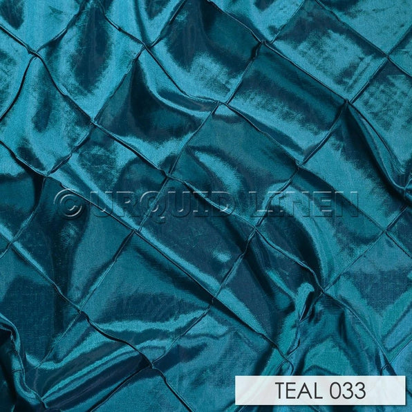 "103pcs - 4"" Pintuck - 6""x108"" Sash w/ Straight Ends - Teal"