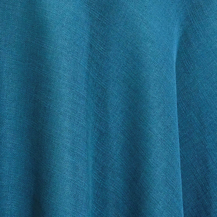 Rustic Linen (100% Poly/Double-Wide) Wholesale Fabric in Teal