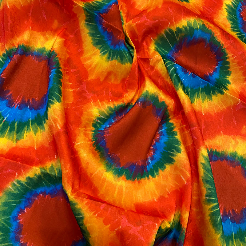 Tie-Dye Print (Dupioni) Table Napkin