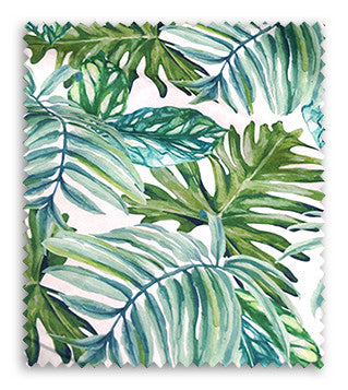 Tropical Print (Dupioni) - Swatch