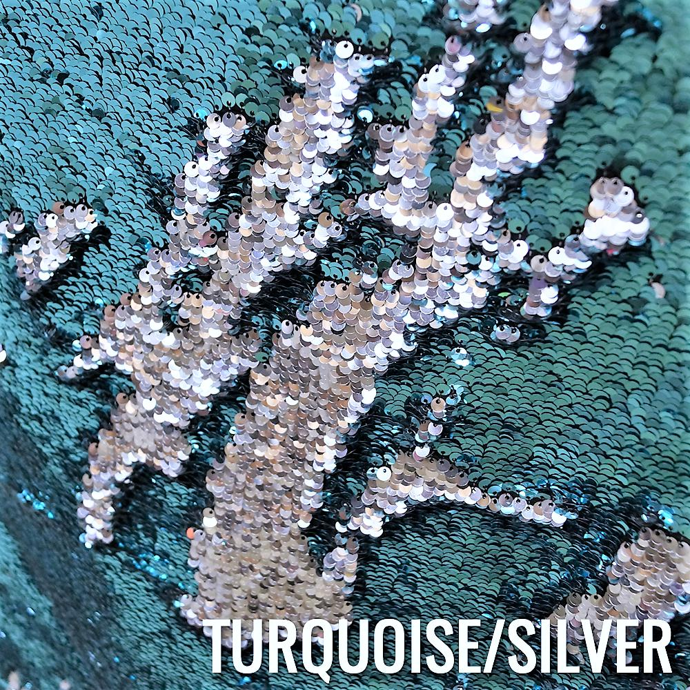 TURQUOISE / SILVER