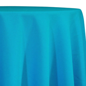 Premium Poly (Poplin) Table Linen in Turquoise 1142
