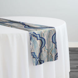 Bentley Jacquard Table Runner in Turquoise