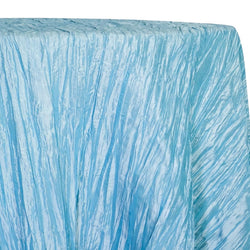 Accordion Taffeta Table Linen in Turquoise 14