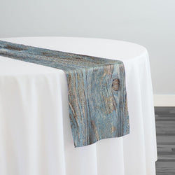 Sahara Jacquard Table Runner in Turquoise