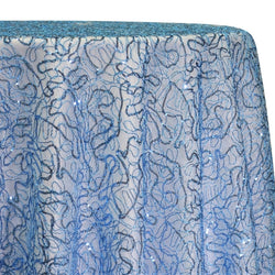 Bedazzle Table Linen in Turquoise
