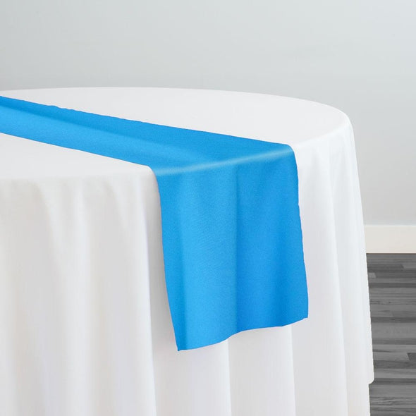 Scuba (Wrinkle-Free) Table Runner in Turquoise DK