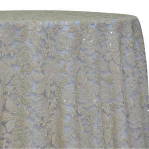 Valentina Lace Table Linen in Ivory