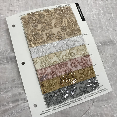 Valentina Lace Color Card