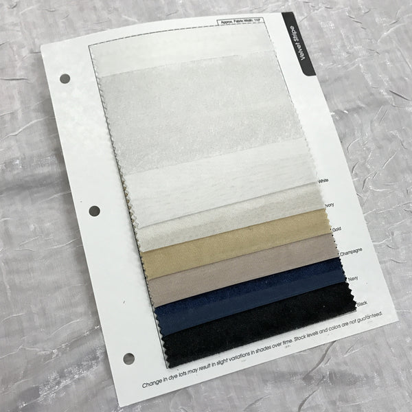 Velvet Stripe Color Card