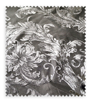 Victorian Jacquard Sheer - Swatch