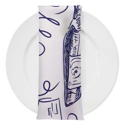 Vino (Poly Print) Table Napkin