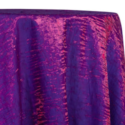 Crush Shimmer (Galaxy) Table Linen in Violet 21