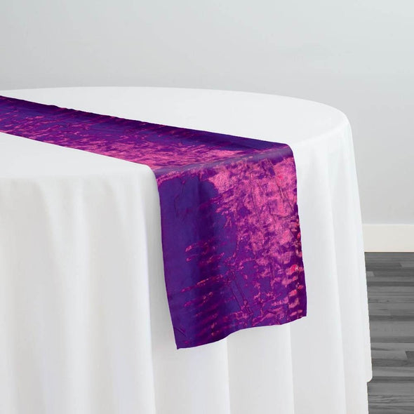 Crush Shimmer (Galaxy) Table Runner in Violet 21