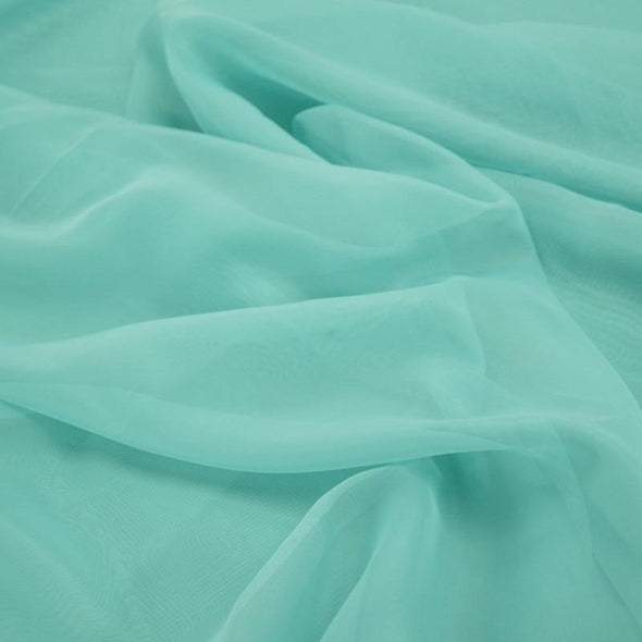 Voile Wholesale Fabric in Vista Blue
