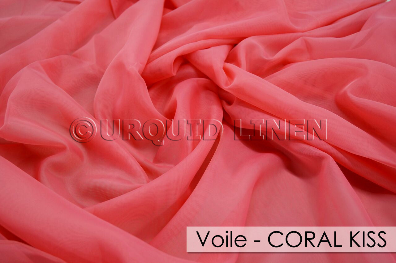 VOILE-CORAL KISS
