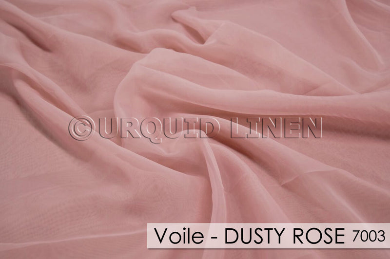 VOILE-DUSTY ROSE 7003