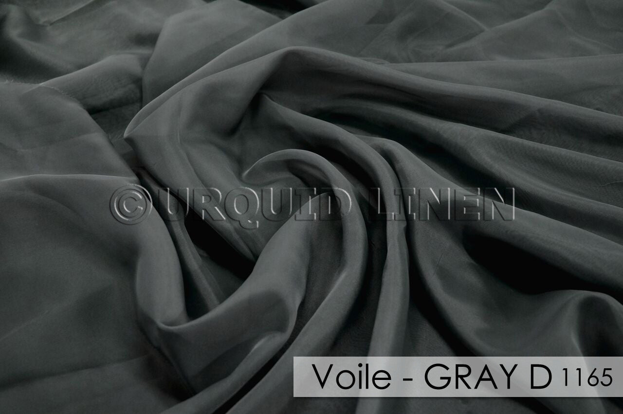 VOILE-GRAY D1165