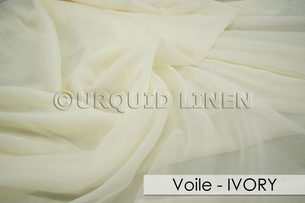 VOILE-IVORY