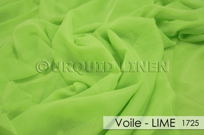 VOILE-LIME 1725