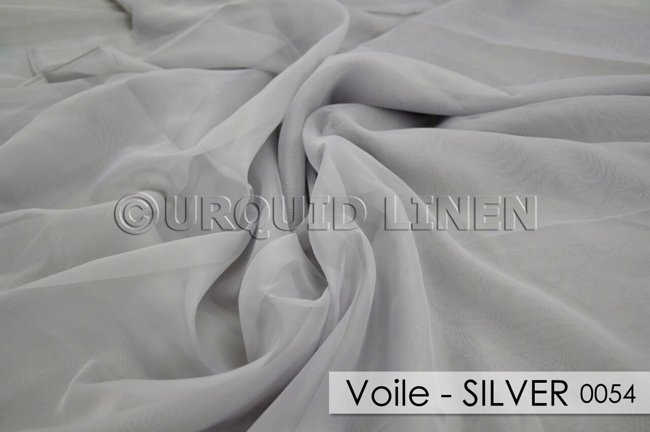 VOILE-SILVER 0054