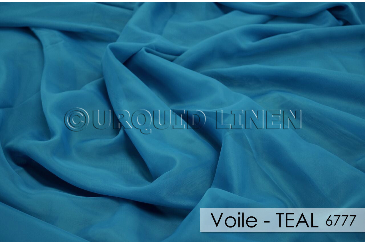 VOILE-TEAL 6777