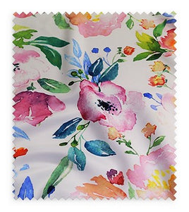 Watercolor Bouquet (Poly Print) - Swatch