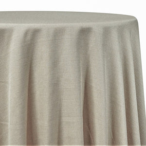 Rustic Linen Table Linen in Wheat