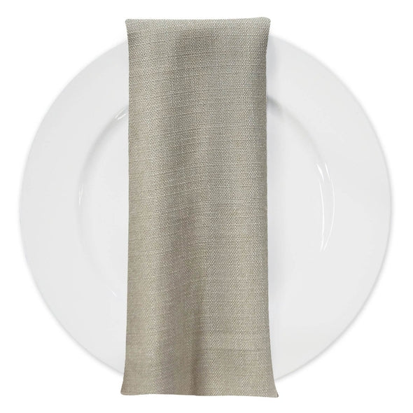 Rustic Linen Table Napkin in Wheat