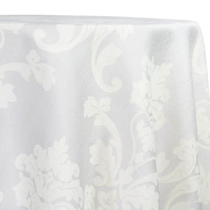 Madison Jacquard (Reversible) Table Linen in White