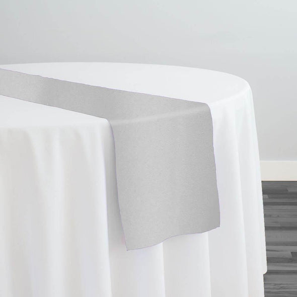 Premium Polyester (Poplin) Table Runner in White
