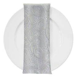 Sienna Design (w/ Poly Lining) Table Napkin in White