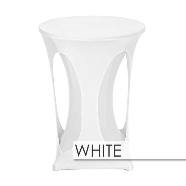 Premium Spandex Cutout Highboy Table Overlay