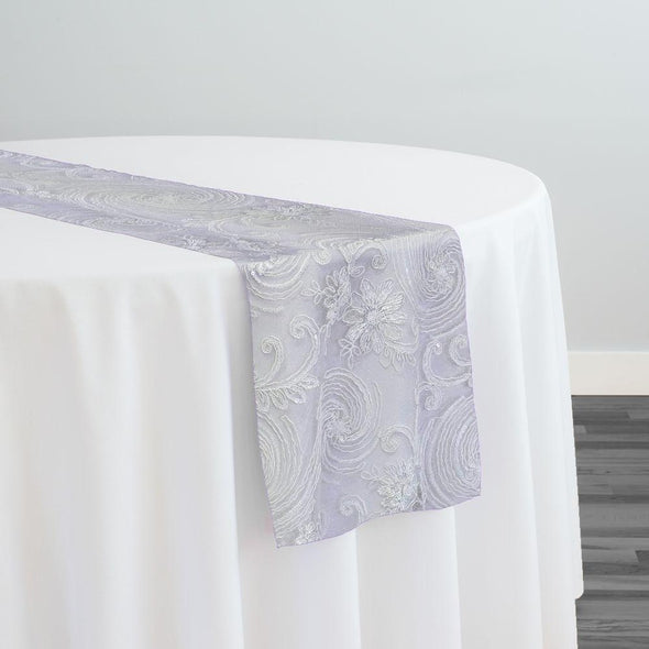 Jasmine Lace Table Runner in White