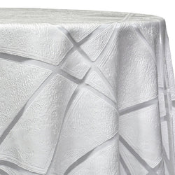 Atlas Sheer Table Linen in White