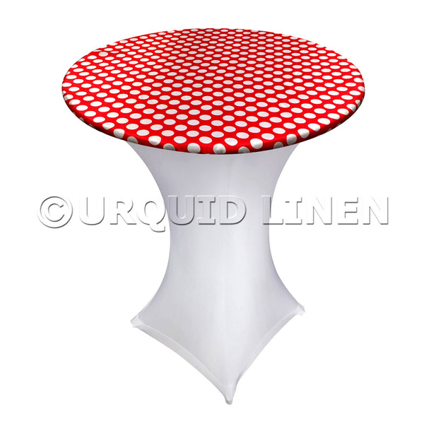 Satin Polka Dot - Highboy Toppers