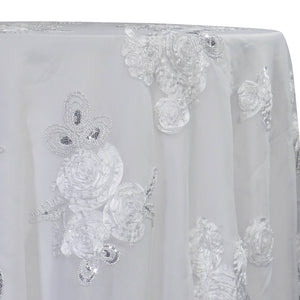 Posh Collection Table Linen in White