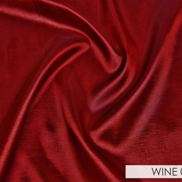 Taffeta (Solid) Table Runner in Wine 037