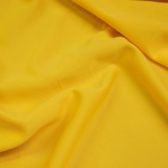 Scuba (Wrinkle-Free) Wholesale Fabric in Yellow 604