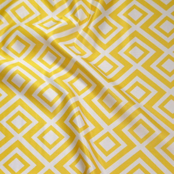 Paragon Print (Lamour) Wholesale Fabric in Yellow