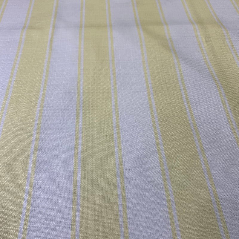 Cabana Stripe Table Runner in Yellow