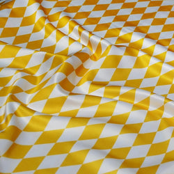 Harlequin (Lamour Print) Table Napkin in Yellow