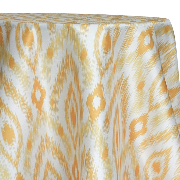 Cosmo (Dupioni) Table Linen in Yellow