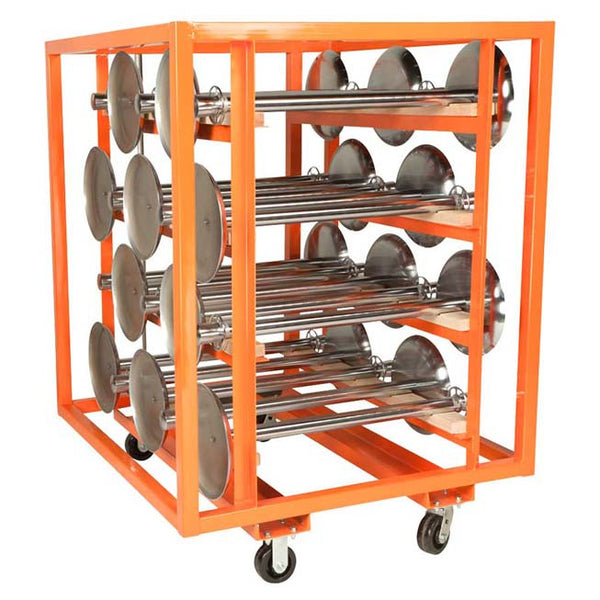 Large Stanchion Cart