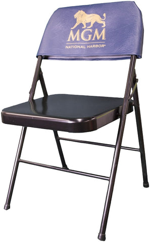 Printed Chair Back Folding Chair