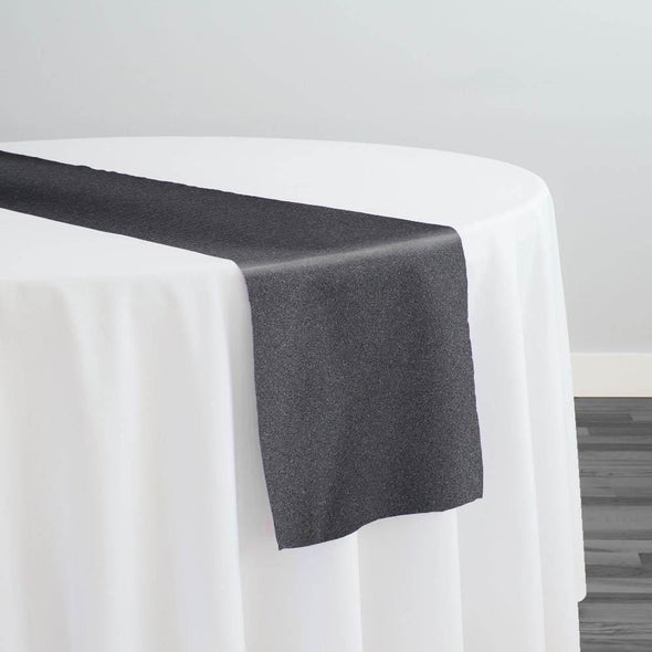 Scuba (Wrinkle-Free) Table Runner in Charcoal 204