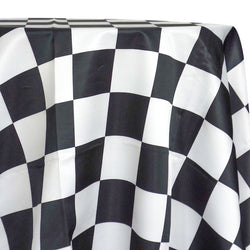 "Lamour Prints Table Linen in 4""x4"" Checker"