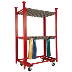 Table Skirt Cart - Double Rack